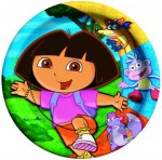 DORA THE EXPLORER PLATES